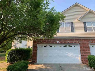 Durham County Townhouse For Sale: 207 Basset Hall Drive
