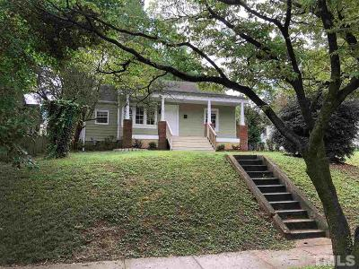 Wake County Single Family Home For Sale: 1410 Courtland Drive