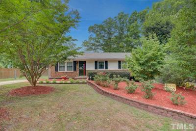 Apex Single Family Home Contingent: 601 Abraham Circle