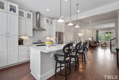 Raleigh Townhouse For Sale: 3612 Rolston Drive