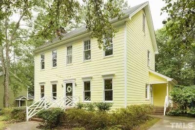 Raleigh Single Family Home For Sale: 4117 Pleasant Grove Church Road