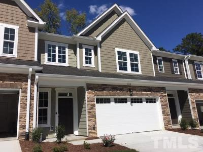 Cary Townhouse For Sale: 1019 Hero Place #08