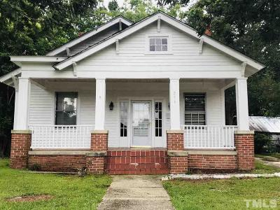 Smithfield Single Family Home For Sale: 206 W Rose Street