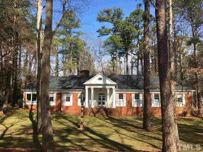 Raleigh Single Family Home For Sale: 2321 New Bern Avenue