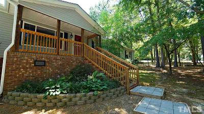 Youngsville Single Family Home Contingent: 120 Martinhill Drive
