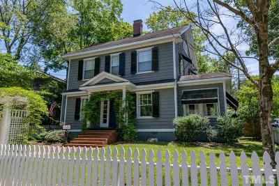 Raleigh Single Family Home Contingent: 1719 Park Drive
