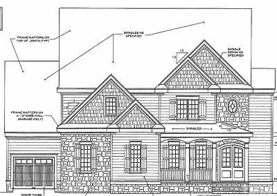 Apex Single Family Home For Sale: 3520 Estates Edge Drive