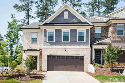 Cary Townhouse For Sale: 412 Bent Tree Lane