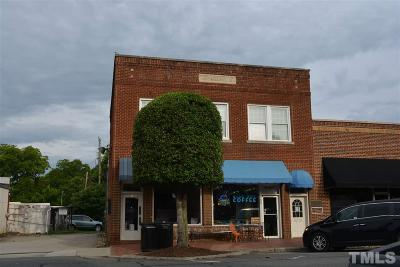 Chatham County Commercial For Sale: 53 1/2 Hillsboro Street