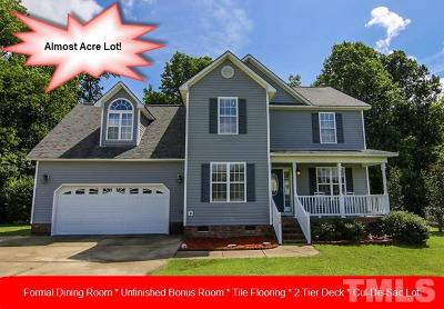 Clayton Single Family Home For Sale: 228 Sunset Pointe Drive