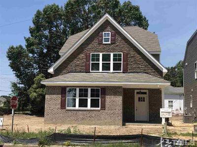 Fuquay Varina Single Family Home For Sale: 105 Bridge Street