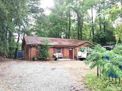 Durham Single Family Home For Sale: 1007 E Club Boulevard
