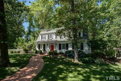 Chapel Hill Single Family Home For Sale: 107 Laurel Hill Circle