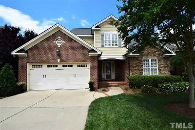 Cary Single Family Home For Sale: 113 Sonoma Valley Drive