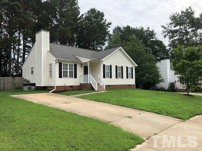 Holly Springs Single Family Home For Sale: 609 Stinson Avenue