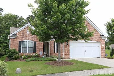 Cary Single Family Home Contingent: 505 Clarenbridge Drive