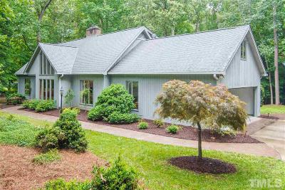 Raleigh Single Family Home Contingent: 12717 Waterman Drive