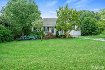Holly Springs Single Family Home Pending: 1809 Little Beaverdam Court