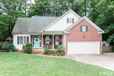 Holly Springs Single Family Home For Sale: 4220 Olive Hill Drive