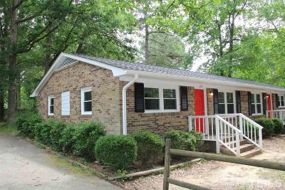 Louisburg Rental For Rent: 220 Fox Park Road