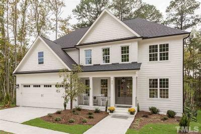 Chapel Hill Single Family Home For Sale: 2000 Shagbark Court #Lot 18