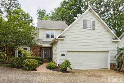 Cary Townhouse For Sale: 110 Prestwick Place