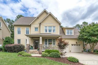 Holly Springs Single Family Home For Sale: 724 Streamwood Drive