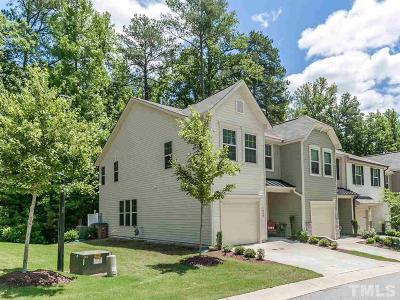 Wake Forest Townhouse For Sale: 1424 Chatuga Way