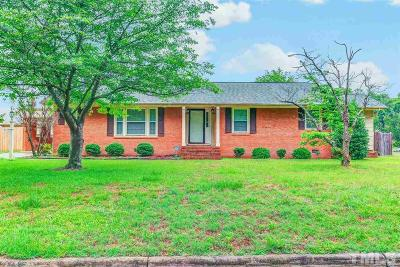 Dunn Single Family Home For Sale: 115 Bruce Drive