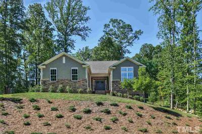 Chapel Hill Single Family Home For Sale: 1231 Legend Oaks Drive