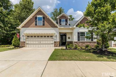Fuquay Varina Single Family Home For Sale: 458 Lone Pine Loop