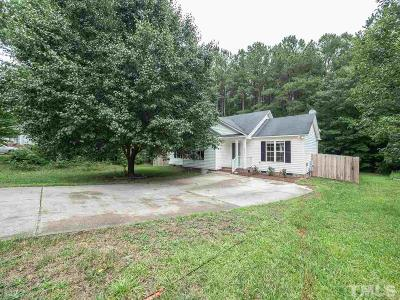 Knightdale Single Family Home Pending: 5956 Presentation Street