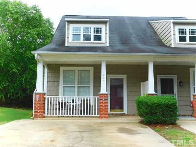 Johnston County Townhouse For Sale: 208 Woodson Drive