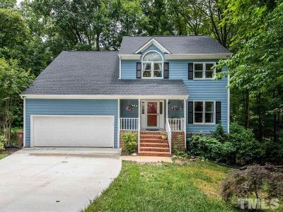 Cary Single Family Home Contingent: 102 Swiftwater Court