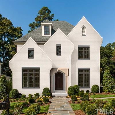 Raleigh Single Family Home For Sale: 1700 Brooks Avenue