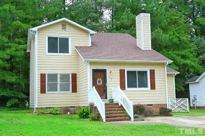 Raleigh Single Family Home For Sale: 825 Rawls Drive