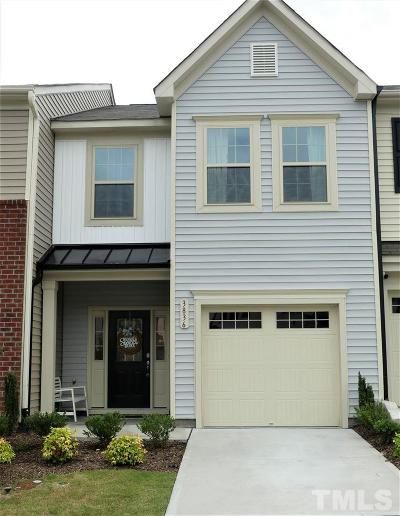 Wake Forest Townhouse Contingent: 3836 Prince Noah Loop