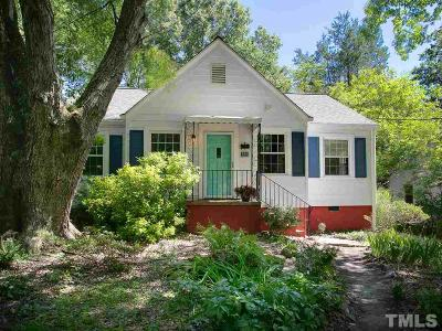 Durham County Single Family Home For Sale: 111 W Lavender Avenue