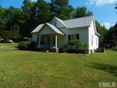 Zebulon Single Family Home For Sale: 80 Pg Lane