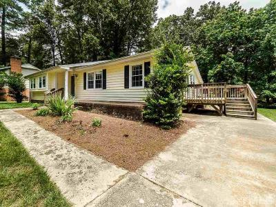 Cary Single Family Home For Sale: 1045 Dunsford Place