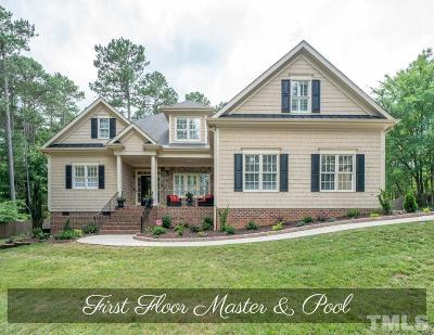 Wake Forest Single Family Home For Sale: 1124 Mauldin Circle
