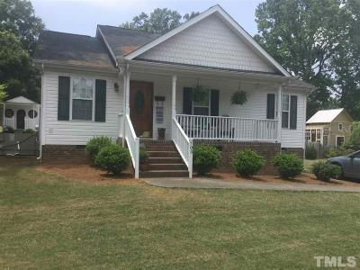 Wake Forest Single Family Home Pending: 703 Mill Street