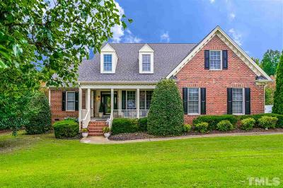 Fuquay Varina Single Family Home For Sale: 7912 Whimbrel Lane