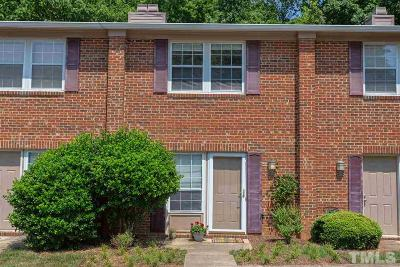 Carrboro Townhouse Contingent: 110 Marlowe Court