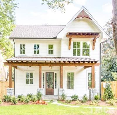 Raleigh Single Family Home For Sale: 1704 Carson Street