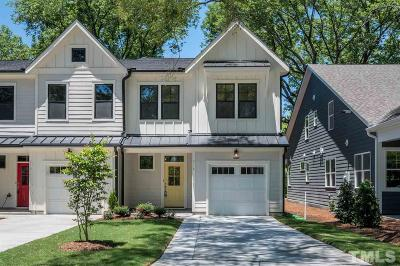 Cary Townhouse For Sale: 516 Wood Street