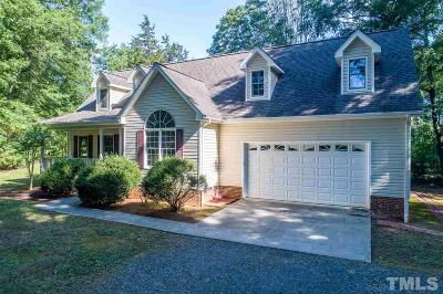 Granville County Single Family Home For Sale: 1189 Audrey Lane