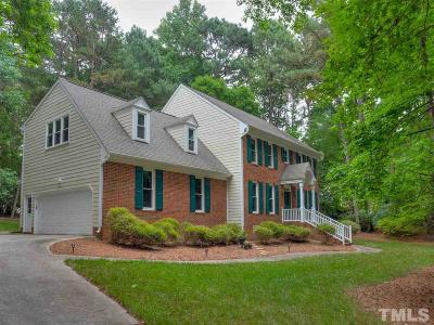 Raleigh NC Single Family Home Contingent: $409,900