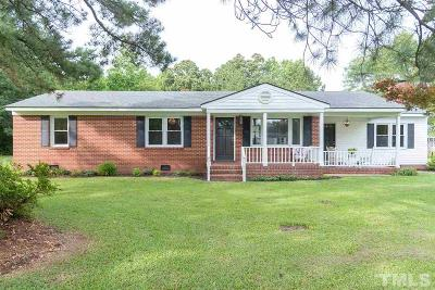 Single Family Home For Sale: 2155 Piney Grove Church Road