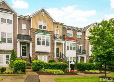 Raleigh NC Townhouse For Sale: $330,000